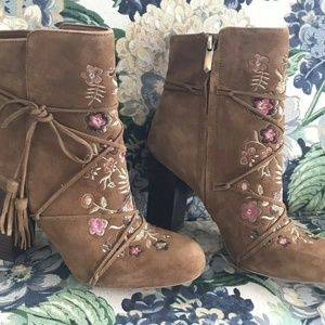 Size 7 Sam Edelman ANTHROPOLOGIE Boots Booties